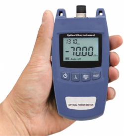 Tools - Low Cost Optical Power Meter with wide measurement range; -70~+10dBm