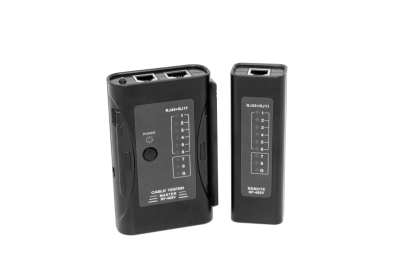 Tools - RJ-45/RJ-11 LED Cable Tester, 8*LED for UTP/STP/TEL Cable with AC Power In