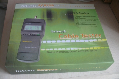 LCD Cable Tester with Length Measurement