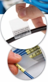 New Patch Cords Labels 49L/A4, White