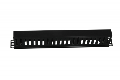 PVC Channel Box Type Cable Manager, 80mm H